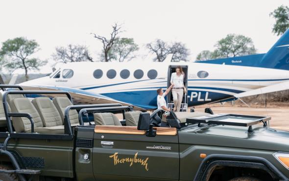 Free Inter-lodge flights - Thornybush Collection