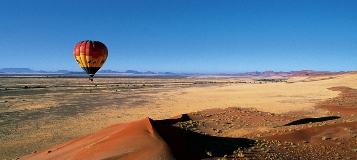 Day Tour - Sossusvlei Hot Air Ballooning