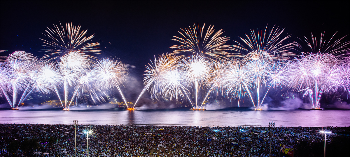 New Year in Rio with the Fairmont